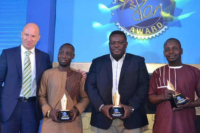 Pay Day For Outstanding Journalists At Nigerian Breweries 10th Golden Pen Awards