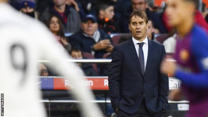 Real Madrid Sacks Lopetegui As Manager