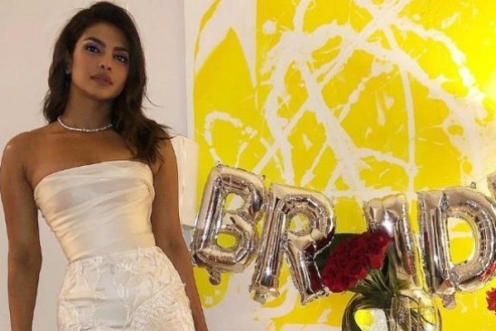 Priyanka Chopra looks Stunning in this Gown for Her Bridal