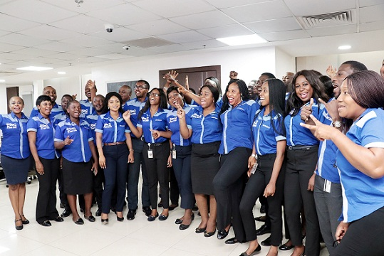A cross section of staff members from the department of Risk Management CSR group