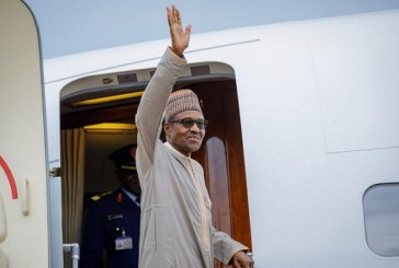 Buhari leaves Abuja to participate in peace forum in France