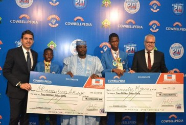 COWBELLPEDIA MATHS COMPETITION HAS MET IT'S OBJECTIVES – PROMASIDOR'S MANAGING DIRECTOR