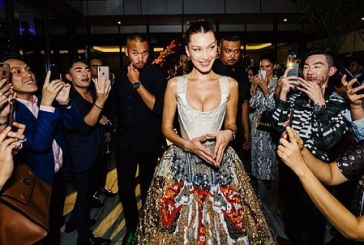 Bella Hadid's Latest Red Carpet Look Is a Celebration of Malaysian Couture