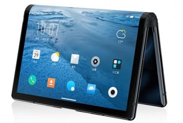 FlexPai Phone features 'World's first' Foldable Screen