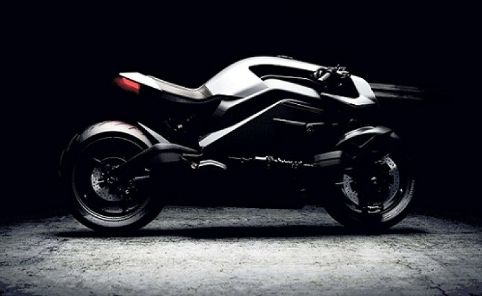 Electric high-tech 'Iron Man' Motorcycle bike revealed for $120,000