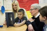 Ivanka Trump, Apple CEO Tim Cook visit Idaho School