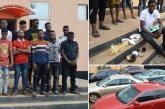 EFCC  Parades 34 OOU Students arrested for been Fraudulent