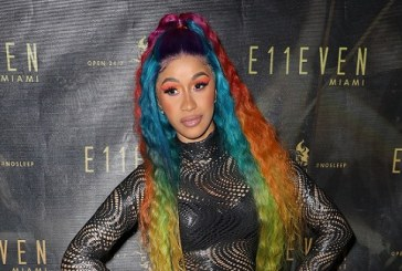 Cardi B Debuts Waist-Length, Rainbow Hair — But Is It Real?