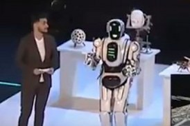 Russia's State-of-the-art Robot Exposed as Man in costume