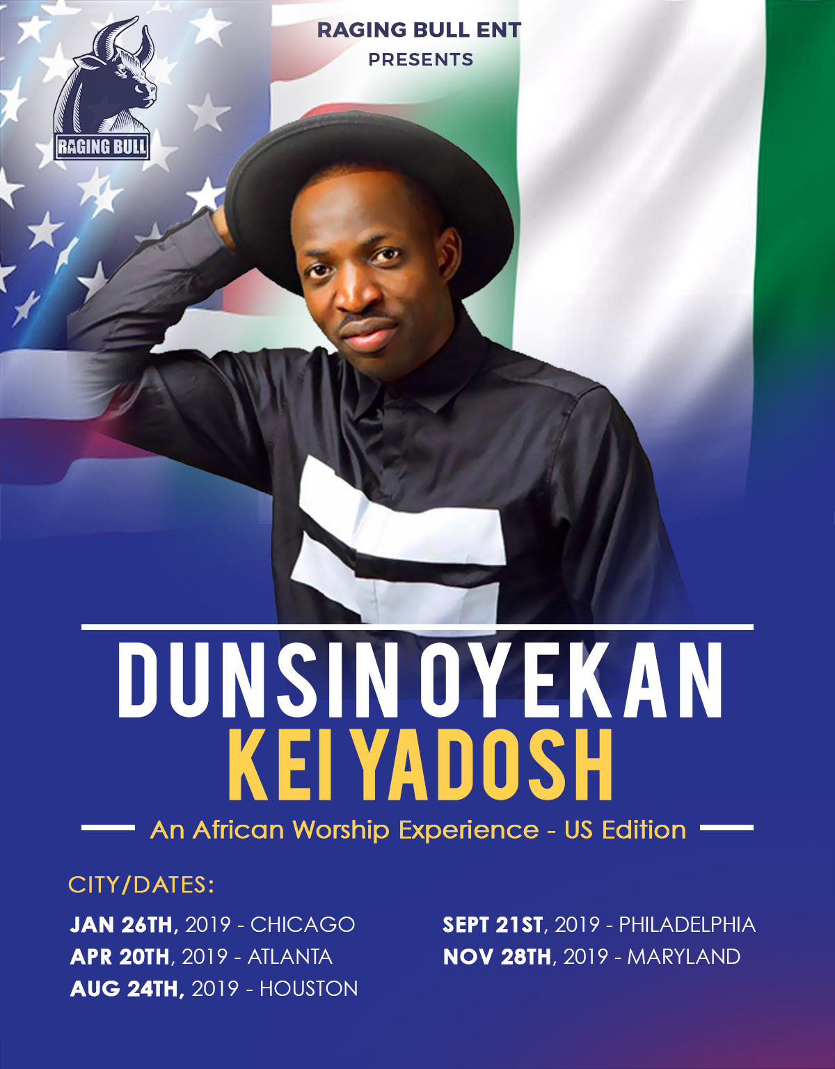 Dunsin Oyekan Set to Unleash his mega praise & worship in the United States