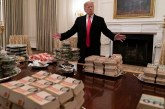 Government Shutdown Leaves White House Guests Dining on take away Burgers