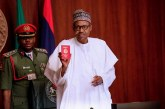 President Buhari Launches The New Nigerian Passport With 10Years Validity .