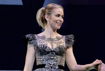 Emily Blunt's Disney Princess-Worthy Gucci Dress Has to Be Seen to Be Believed