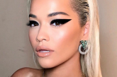 Rita Ora Takes This Versace-Approved Makeup Statement for a Spin