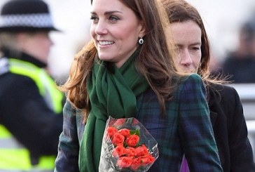 Kate Middleton Re-Wears McQueen With a Little Box Bag From a Turkish Label