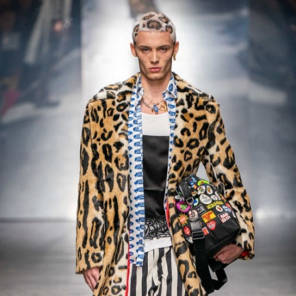 Versace Just Served Up a Jaw-Dropping New Take on Head-to-Toe Animal Print