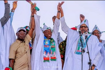 Election Campaign: PDP fumes as Niger Republic Govs attend Buhari's Campaign in Kano