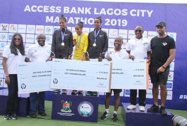 First photos: Ethopian national, Sintayehu Legese wins 2019 Access Bank Lagos City Marathon