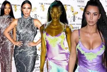 Kim Kardashian Finally Addresses Speculation That She's Copying Naomi Campbell's Iconic Runway Looks
