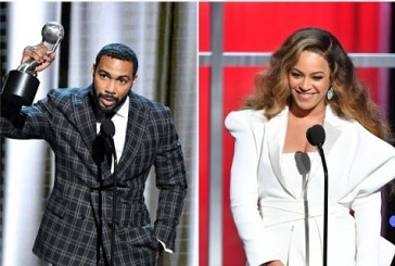 Omari Hardwick Kissed Beyoncé Twice at NAACP Image Awards… and the Beyhive Isn't Happy!