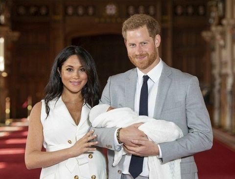 Radio Host Fired after Tweeting Photo Comparing Royal Baby Archie to Chimpanzee