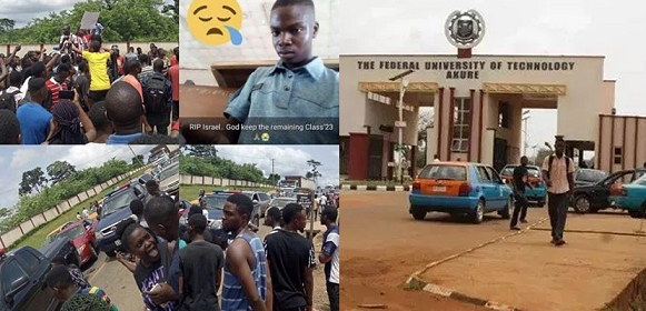 Protest in FUTA as Hit-and-Run Driver kills Student