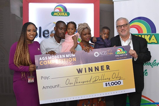 Mouka Rewards Mum in Businesswith $1,000 on Mother's Day