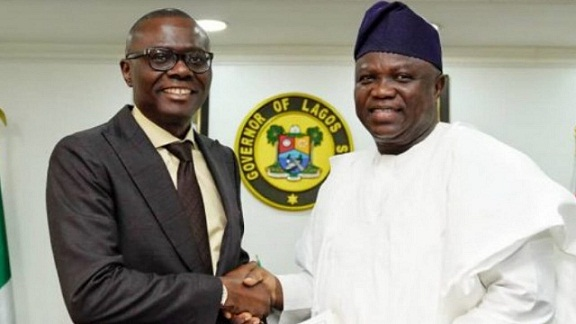 Gov Ambode hands over to the Elected Gov Sanwo-Olu ahead of inauguration