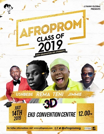 "Banky W, Teni, REMA, Adebola Williams Gear Up for Nigeria's First-ever Prom Concert ""Afroprom""."