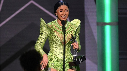 Cardi B Wins BET Album Of The Year