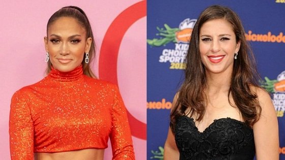 Jennifer Lopez Surprised Women's Soccer Star Carli Lloyd with a Lap Dance