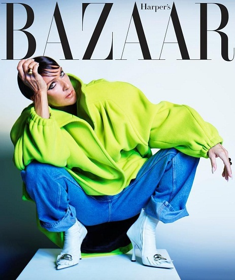 Céline Dion Covers September Edition of Bazaar and She looks Unrecognisable