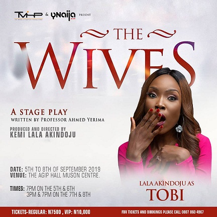 'The Wives' returns with Kate Henshaw, Jide Kosoko, Shaffy Bello, and Lala Akindoju this September