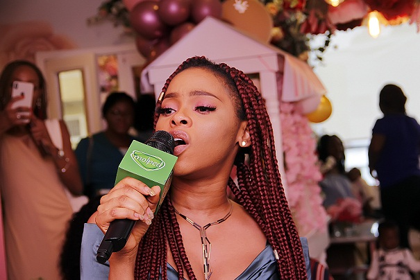 CHIDINMA CELEBRATES WORLD FRIENDSHIP DAY WITH MOLPED'S 'MO GIRLS' IN LAGOS