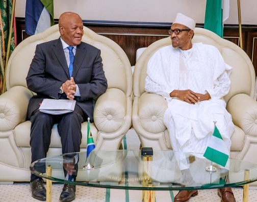 South Africa apologises to Nigeria Govt for Xenophobic Attacks, envoy meets Buhari