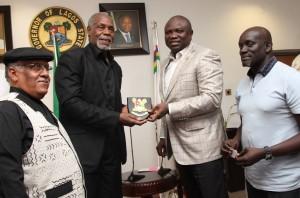 ENTERTAINMENT: Ambode Names Danny Glover As Brand Ambassador For Lagos