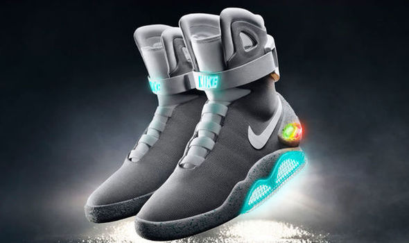 The Nike self-lacing trainers from Back To The Future exist and guess who's got a pair