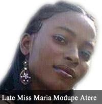 300 Level Female FUNABB Undergraduate Killed in Auto Crash