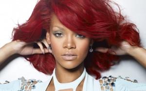 rihanna-red-hair