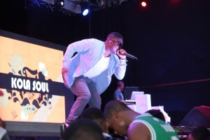 Kola Soul performing at Guinness #thespecialone in Lagos