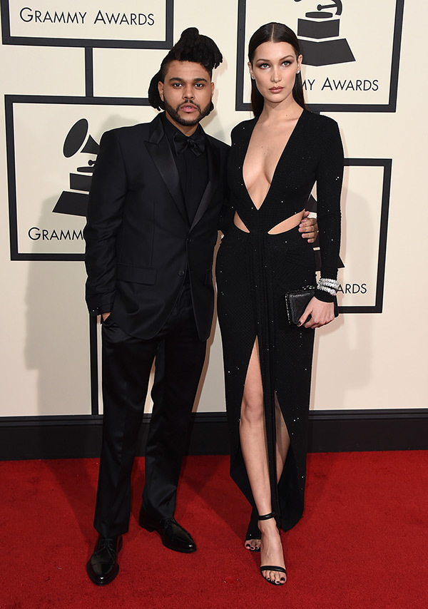 the-weekend-bella-hadid-2016-grammy-awards-best-couples-ftr