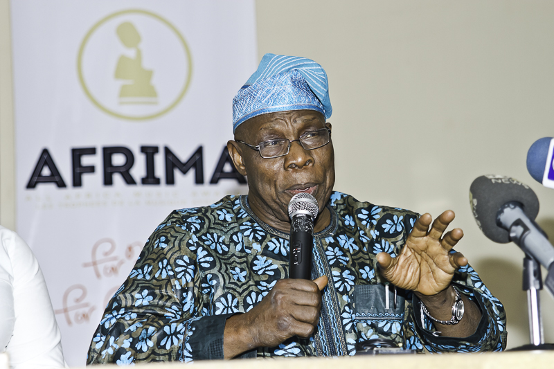 Obasanjo pledges support for AFRIMA ...says AFRIMA IS A UNIFIER IN AFRICA