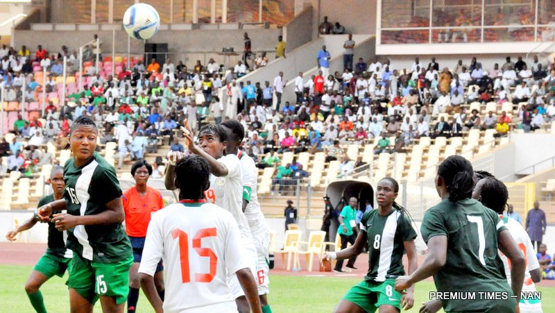 Falcons beat Senegal 2-0, qualify for 2015 AWCON