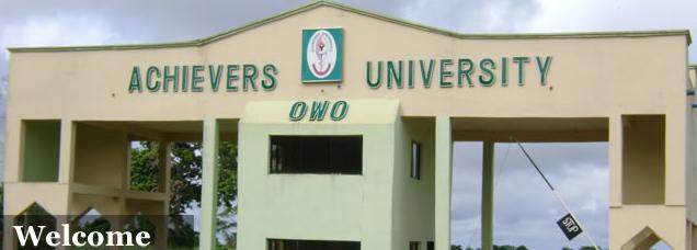 38 Bagged First Class as Achievers University Graduates 547 Students