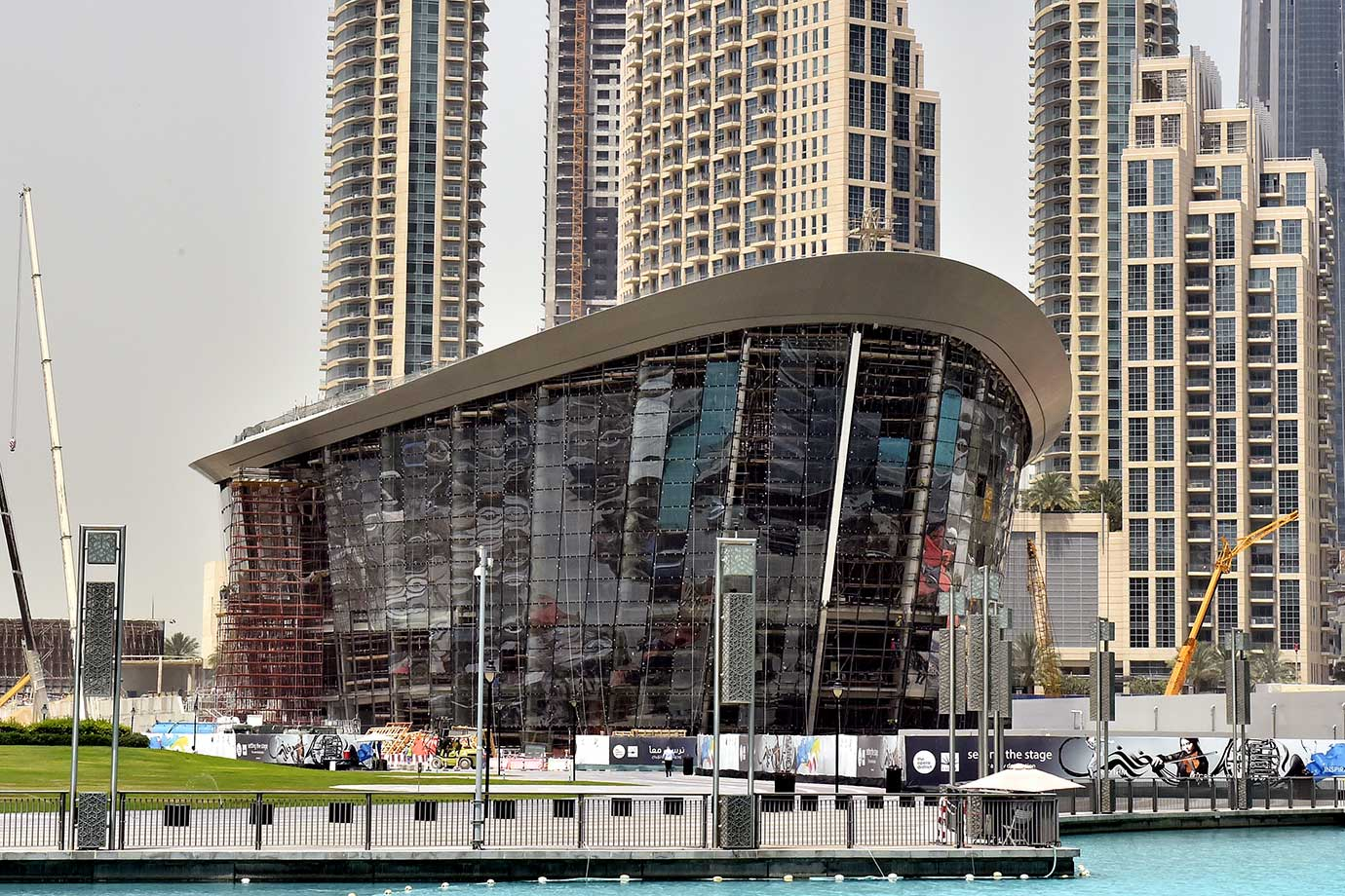 Dubai Opera House  Will be Opened on The 31 of August And ls Set To hold Over 200 Shows Annually