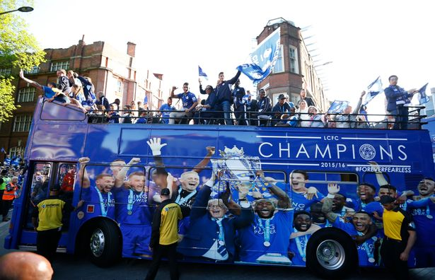 Leicester Celebrate Title With Quarter of a Million Fans