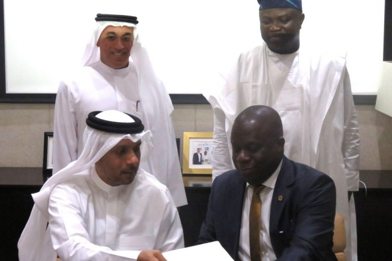 Ambode Signs Deal with Dubai