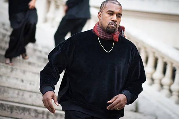 Kanye West in A 'Para' Mode