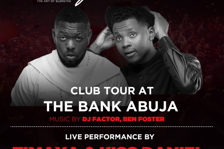 Hennessy Artistry Club Tour with Timaya and Kiss Daniel at the Bank Abuja-acadaextra