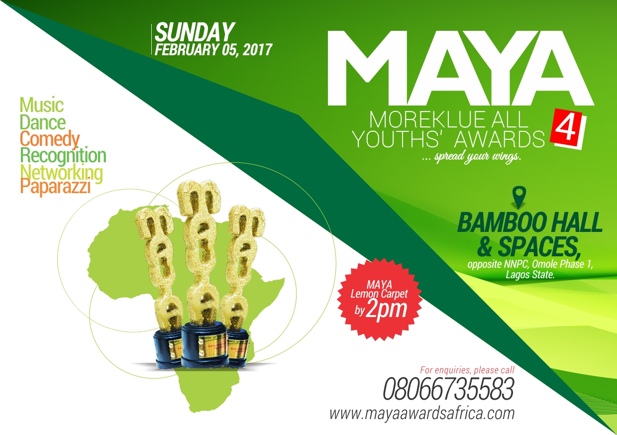 MAYA Award sets to hold in Lagos